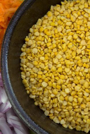 Greek FAVA dip  from yellow split peas