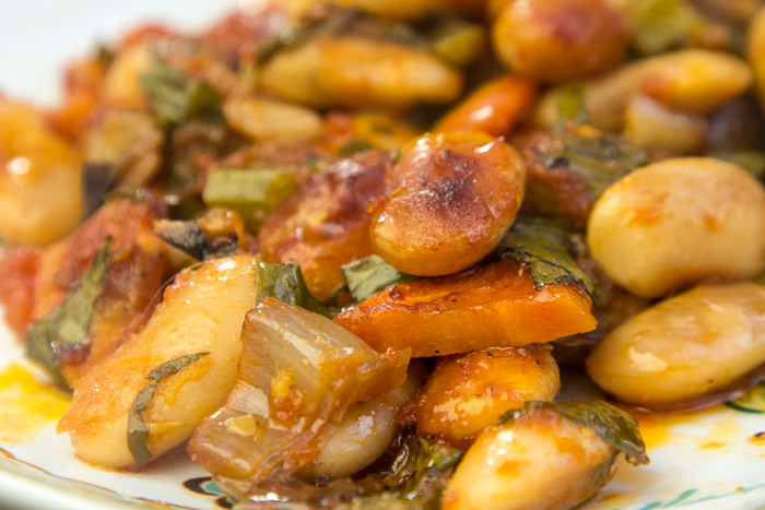 Giant Roasted Butter Beans In Olive Oil From Prespes Lake In Northern Greece Cucinacaruso Com