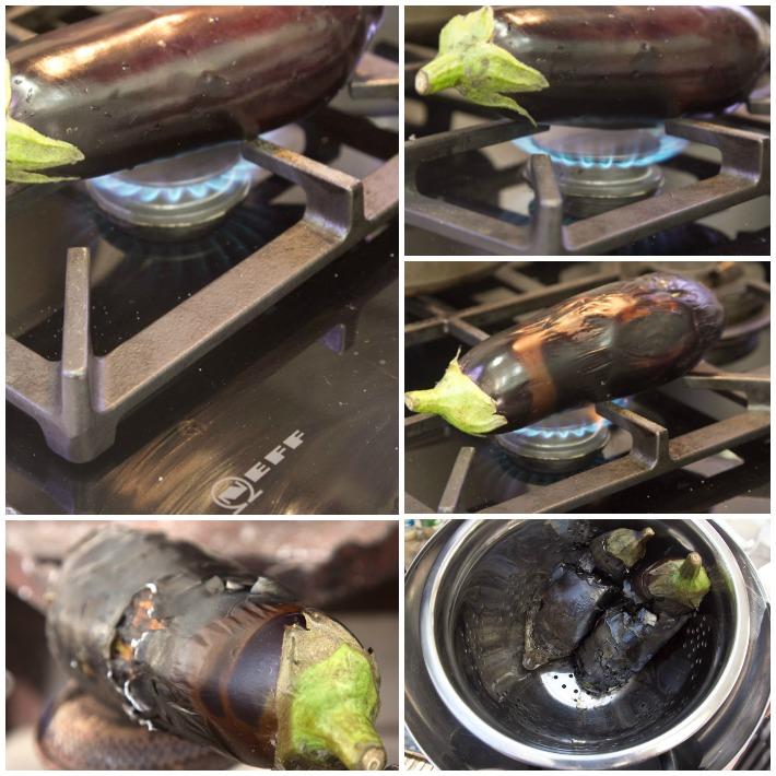 Smoky Aubergine dip -melitzanosalata