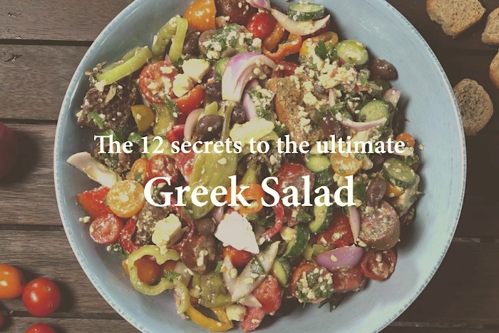 Greek Salad - the 12 tips