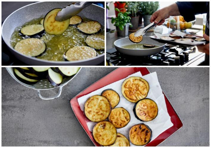 Moussaka with ragu and smoked eggplents béchamel